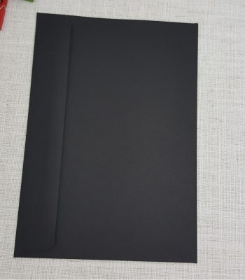 Black Envelopes C5 Rectangle Flap 120gsm my envelopes auckland nz