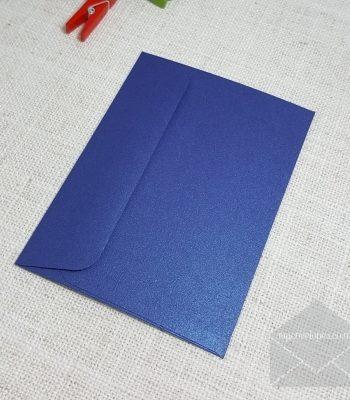 Blue Metallic C7 Envelopes Rectangle Flap My Envelopes Auckland NZ