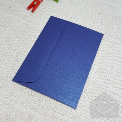 Blue Metallic C7 Envelopes Rectangle Flap My Envelopes Auckland NZ