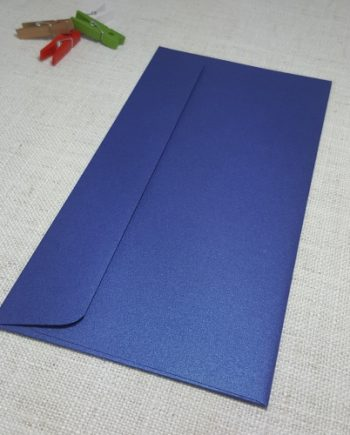 Blue Metallic DLE Envelopes Rectangle Flap My Envelopes Auckland NZ
