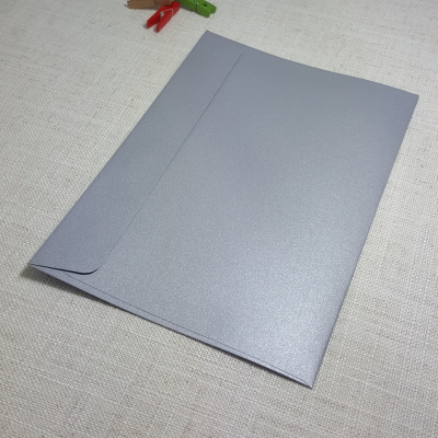 Galvanised Metallic C5 Envelopes Rectangle Flap My Envelopes Auckland NZ