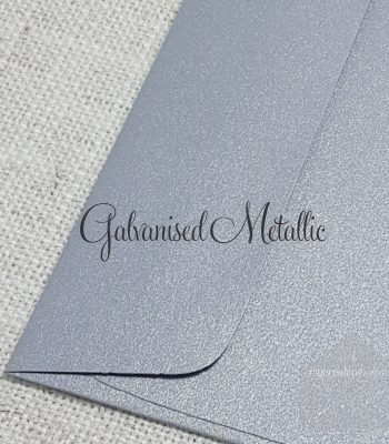 Galvansied Metallic 5x7 Envelope Rectangle FlapMy Envelopes Auckland NZ