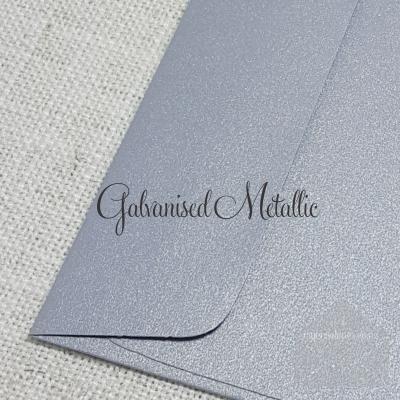 Galvansied Metallic 5x7 Envelope Rectangle FlapMy Envelopes Auckland NZ