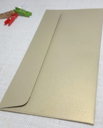 Goldleaf Gold Metallic DLE Envelopes Rectangle Flap My Envelopes Auckland NZ