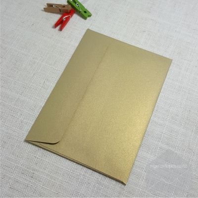 Goldleaf Metallic C6 Envelopes Rectangle Flap My Envelopes Auckland NZ