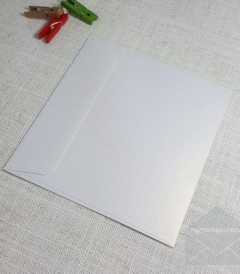 Ice Gold Metallic 140 mm Square Envelopes Rectangle Flap My Envelopes Auckland NZ