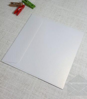 Ice Gold Metallic 140 mm Square Envelopes Rectangle Flap My Envelopes Auckland NZ