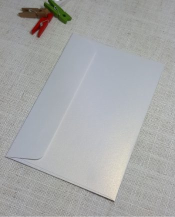 Ice Gold Metallic C6 Envelopes Rectangle Flap My Envelopes Auckland NZ