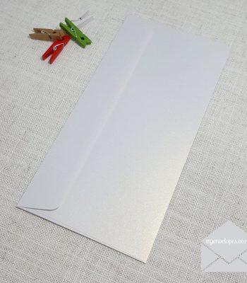 Ice Gold Metallic DLE Envelopes Rectangle Flap My Envelopes Auckland NZ