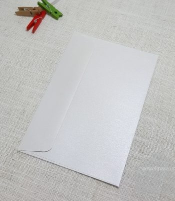 Ice Gold Metallic 5x7 Envelope Rectangle Flap My Envelopes Auckland NZ