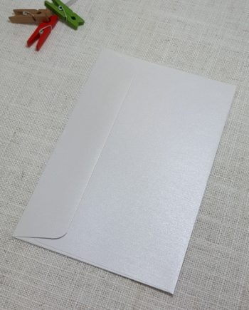 Ice Silver Metallic C6 Envelopes Rectangle Flap My Envelopes Auckland NZ