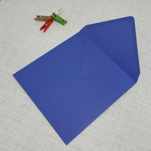 Iris Blue 155mm Square Envelopes Diamond Flap My Envelopes Auckand NZ