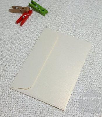 Ivory Gold Metallic C7 Envelopes Rectangle Flap My Envelopes Auckland NZ