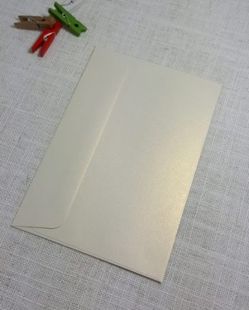 Ivory Gold Metallic C6 Envelopes Rectangle Flap My Envelopes Auckland NZ