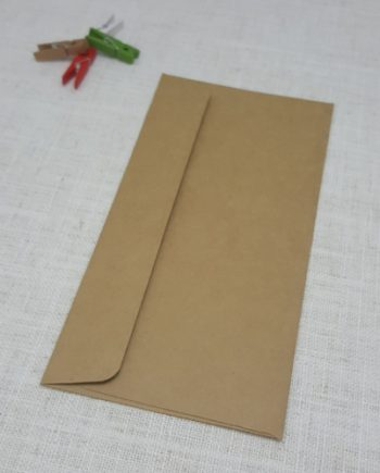 Kraft Recycled DLE Envelopes Rectangle Flap My Envelopes Auckland NZ