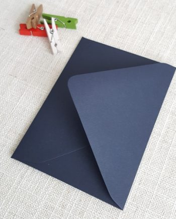 Matt Navy Blue RSVP Envelopes Diamond Flap My Envelopes Auckland NZ