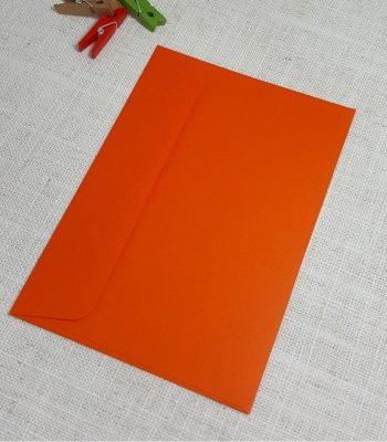 Orange C6 Envelopes Rectangle Flap My Envelopes Auckland NZ