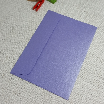 Purple Metallic C6 Envelopes Rectangle Flap My Envelopes Auckland NZ