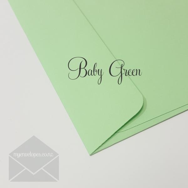 baby green envelopes c6 rectangle flap my envelopes nz
