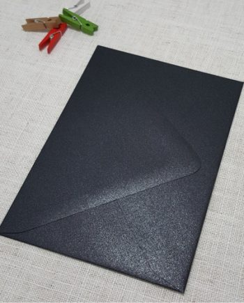 Black Metallic Envelopes 5x7 120gsm my envelopes auckland nz