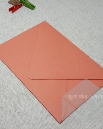 Coral Envelopes 5x7 MattDiamond Flap 135gsm