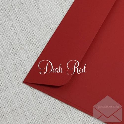 Dark Red Envelopes C6 Rectangle Flap My Envelopes Auckland NZ
