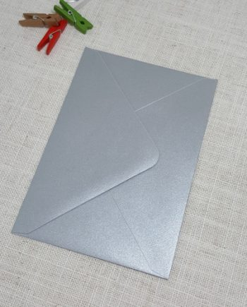 Galvanised Metallic C6 Envelopes Diamond Flap My Envelopes Auckland NZ