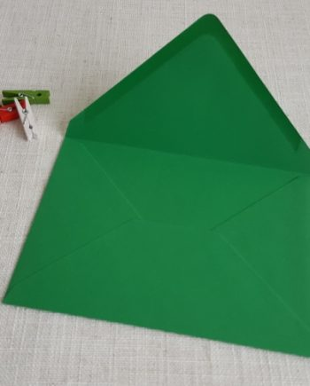 Green 5 x 7 Envelopes Diamond Flap My Envelopes Auckland NZ