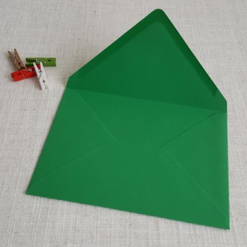 Green 5 x 7 Envelopes Diamond Flap My Envelopes Auckland NZ