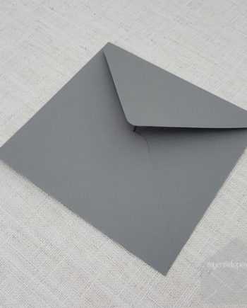 Grey Square Envelopes 155mm Diamond Flap My Envelopes Auckland