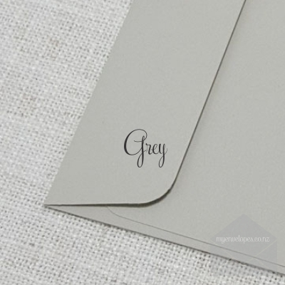Grey 5x7 Envelope Rectangle Flap My Envelopes NZ