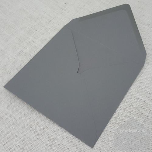grey square envelopes