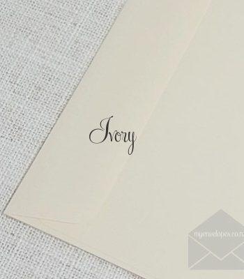 Ivory 5x7 Envelopes Rectangle Flap My Envelopes Auckland NZ