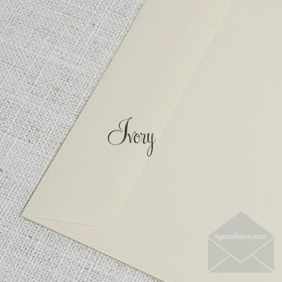 Ivory 5x7 Envelopes Rectangle Flap My Envelopes Auckland NZ