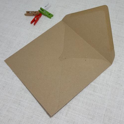 kraft envelopes square