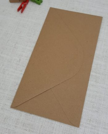 Kraft Recycled DL Envelopes Diamond Flap My Envelopes Auckland NZ