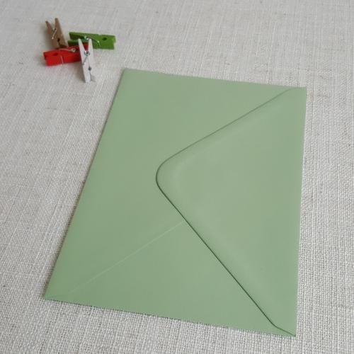 light green 5x7 envelopes diamond flap my envelopes nz