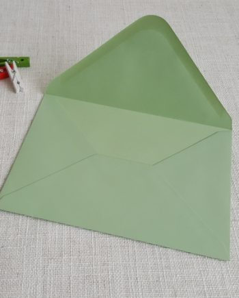 Light Green 5x7 Envelopes Diamond Flap My Envelopes Auckland NZ