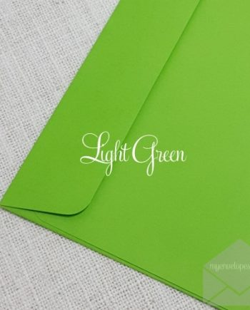 Light Green Envelopes 5x7 Rectangle Flap My Envelope Auckland NZ