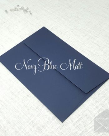 navy blue envelopes 5x7 133mm x 184mm