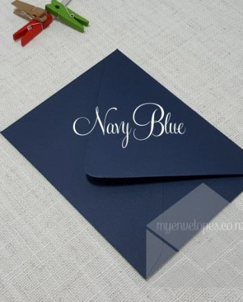 Navy Blue Envelopes A2 Diamond Flap Matt 135gsm My Envelopes Auckland NZ