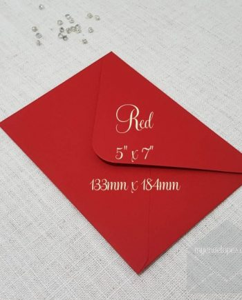 Red Envelopes 5x7 my envelopes auckland nz