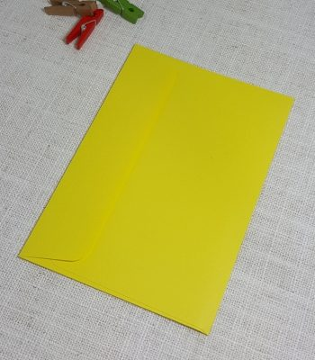 Yellow C6 Envelopes Rectangle Flap My Envelopes Auckland NZ