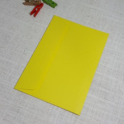 Yellow C6 Envelopes Rectangle Flap My Envelopes Auckland NZ